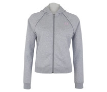 Sweatjacke 'Rival Fleece FZ' hellgrau