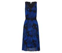 Kleid royalblau / schwarz