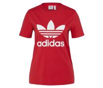 T-Shirt 'trefoil' rot