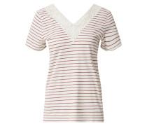 Shirt 'vmhela' rot / weiß