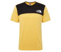 Shirt 'Himalayan' gelb / schwarz