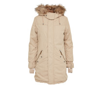Winterjacke 'kourtney' beige