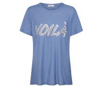 Shirts 'lr-Alvina 13' blau / silber
