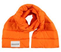Steppschal orange
