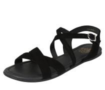 Sandale 'zadie' schwarz