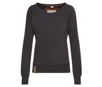 Sweatshirt 'Eingerittene' braun