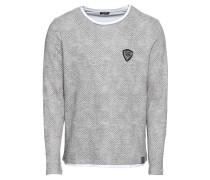 Sweatshirt 'msw Agility round' grau