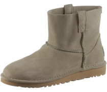Stiefelette 'Classic Unlined' taupe