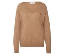 Pullover hellbraun