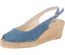 Sandaletten 'Ana 4' himmelblau