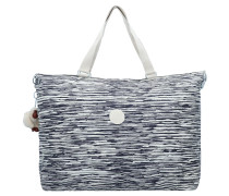 Reisetasche nachtblau / weiß