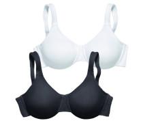 Minimizer-BH (2 Stück) schwarz / weiß