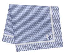 Pochettes blau / weiß