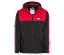 Jacke 'Track Jacket' rot / schwarz