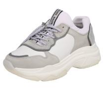 Sneaker Low hellgrau / weiß