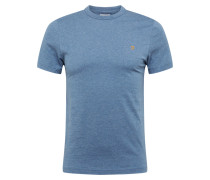 Shirt 'dennis Solid SS Tee' dunkelblau