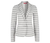 Blazer grau / weiß