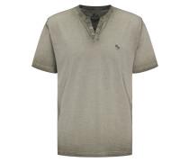 T-Shirt 'Henley' khaki