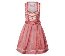 Kleid 'Grada' rot / weiß