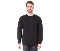 Dropshoulder Sweatshirt schwarz