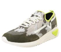 Sneaker 's-Kby' gelb / grau / weiß