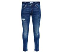 Jeans 'ONSWarp Dark Blue Destroy'