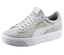 Sneaker 'Vikky Platform' hellgrau / weiß