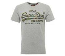 Shirt grau / grün