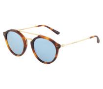 Sonnenbrille 'Fitzroy' blau / braun