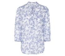 Bluse 'modern Classic' blau / weiß