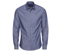 Hemd 'brodie' blau