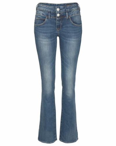 Bootcut-Jeans 'Baby Boot' blue denim