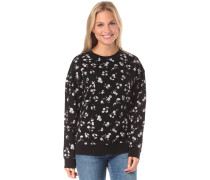 'Sundazed Crew' Sweatshirt schwarz