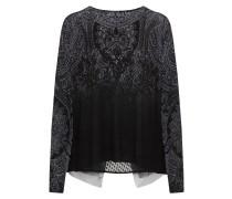 Pullover 'edimburgo' grau / schwarz