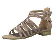 Sandale beige / rosé