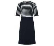 Kleid 'Wirk' marine / weiß