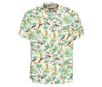 Hemd 'Hawaiian' gelb / grün