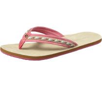 Sandale 'FW Natural Flops' beige / pink