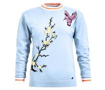 Pullover 'afrodite' blau / hellblau