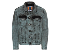 Jeansjacke 'nhill Jacke' grey denim