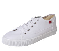 Canvas-Sneaker 'Malibu' weiß