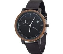 Uhr 'Franz' schwarz