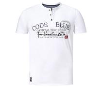 T-Shirt 'Krister' weiß