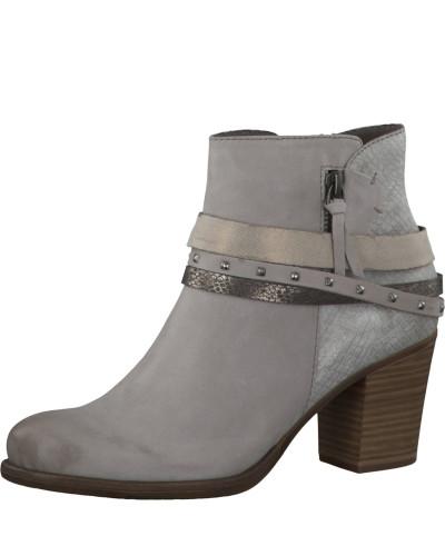 Outlet-Store Günstig Online Tamaris Damen Stiefelette in Leder stone Kaufen Steckdose Vermarktbaren 7ZyIYhy