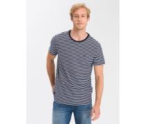 T-Shirts ' 15469 ' blau / weiß