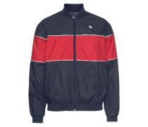 Jacke »Woven Track Jacket« marine / rot