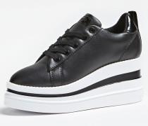 Sneaker 'Keenie' schwarz / weiß