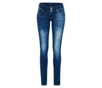 Stretchige Skinny Jeans 'Molly' blue denim