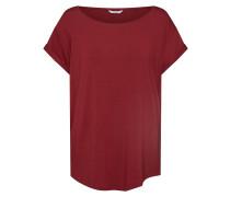Shirt 'Nisha' weinrot