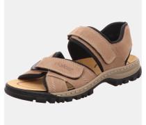 Sandalen hellbeige